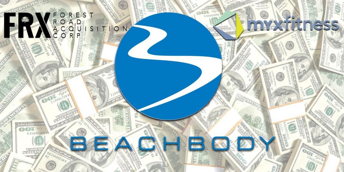 beachbody myx fitness merger