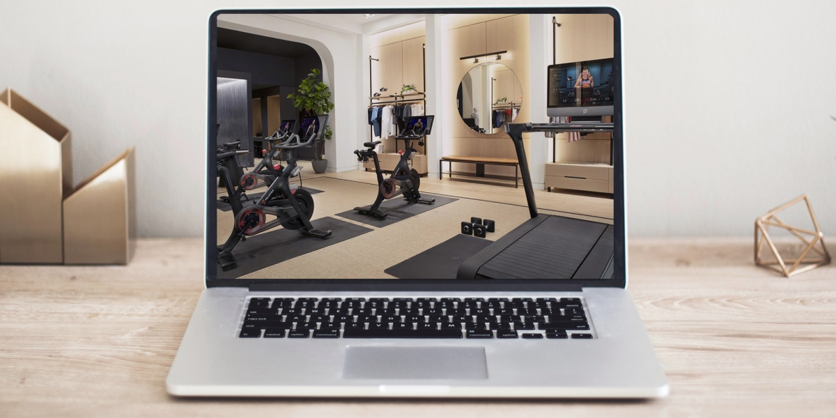 Virtual Peloton Showroom