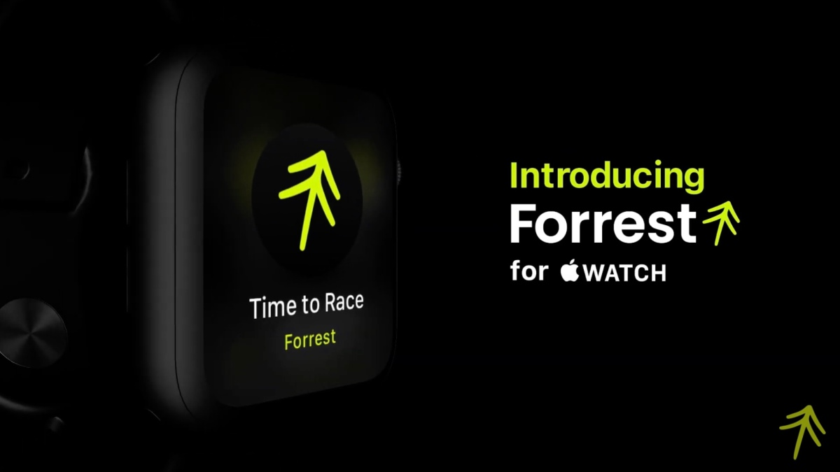 Forrest iPhone fitness race app gets Apple Watch support