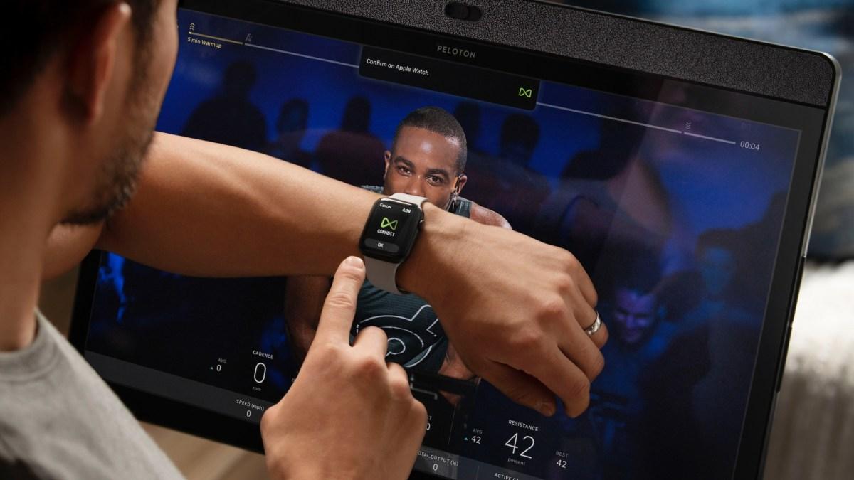 Peloton Wearable Apple Watch