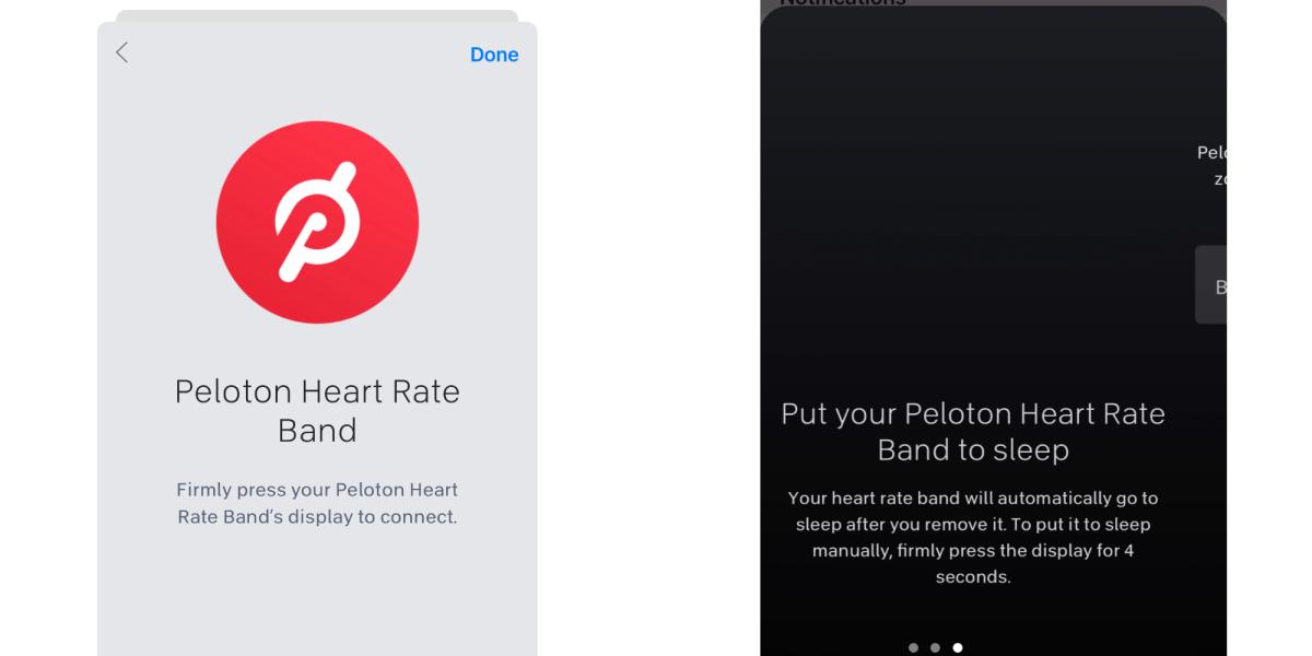 Peloton heart rate