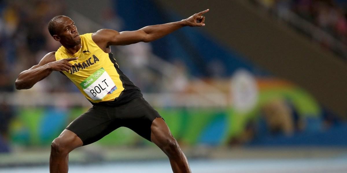 Usain Bolt on Peloton