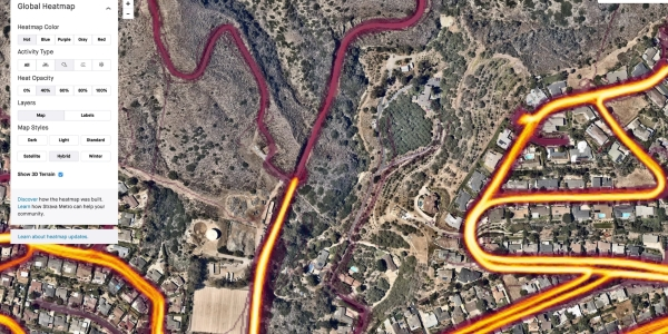 Strava 3d Map