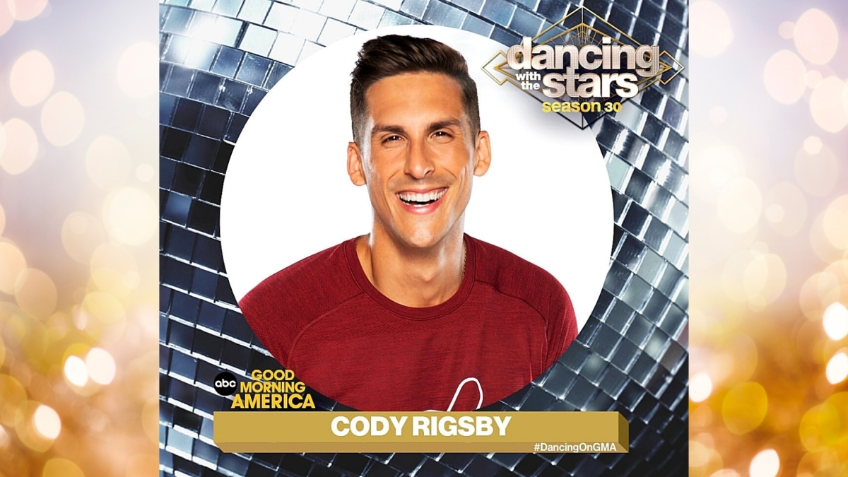 Cody Rigsby dancing with the stars