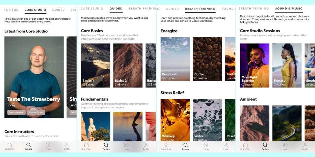 Core Meditation app