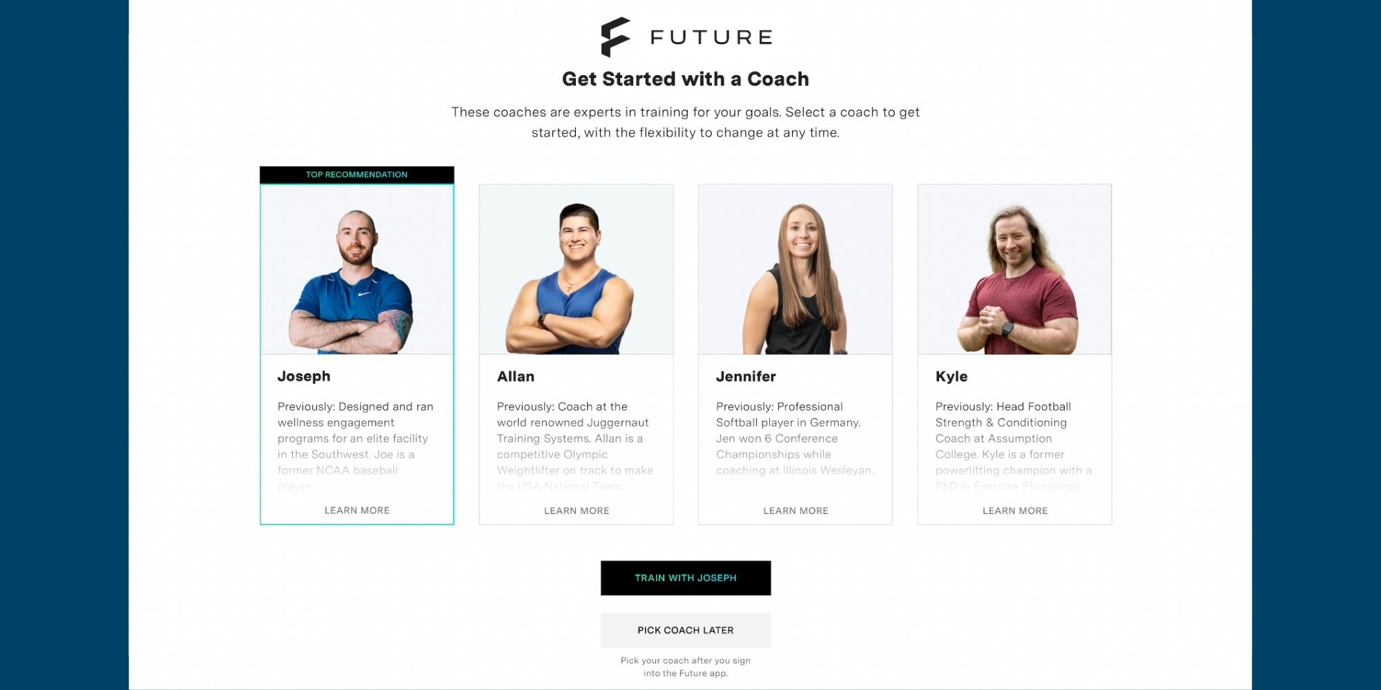 Future coaches