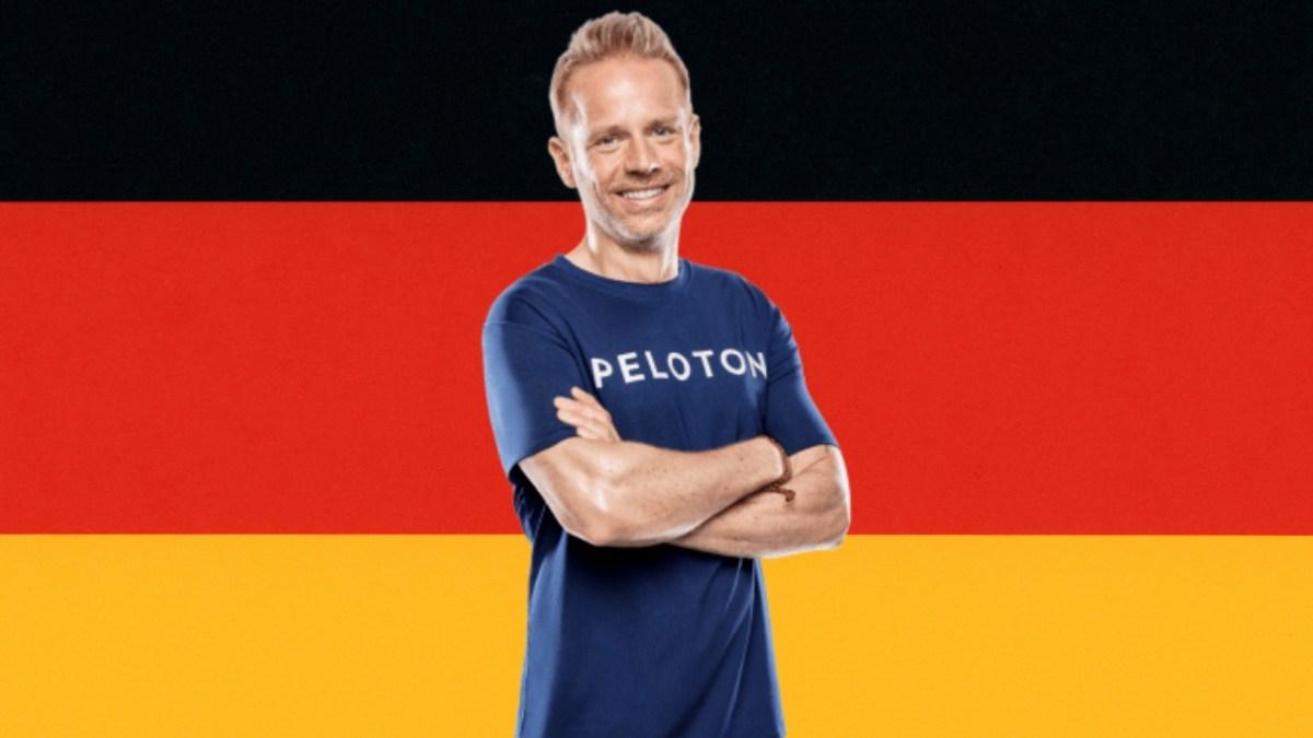 Peloton German Tread coach Tobias Heinze