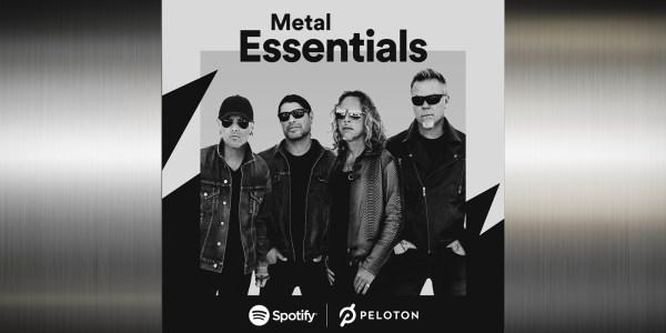 Peloton Spotify Metal Essentials artist series