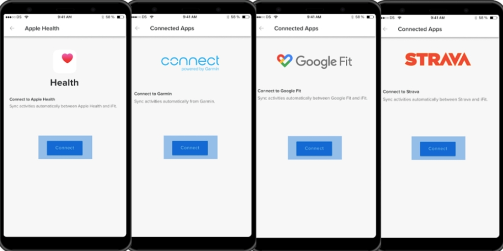 iFIT now connects to your favorite fitness apps