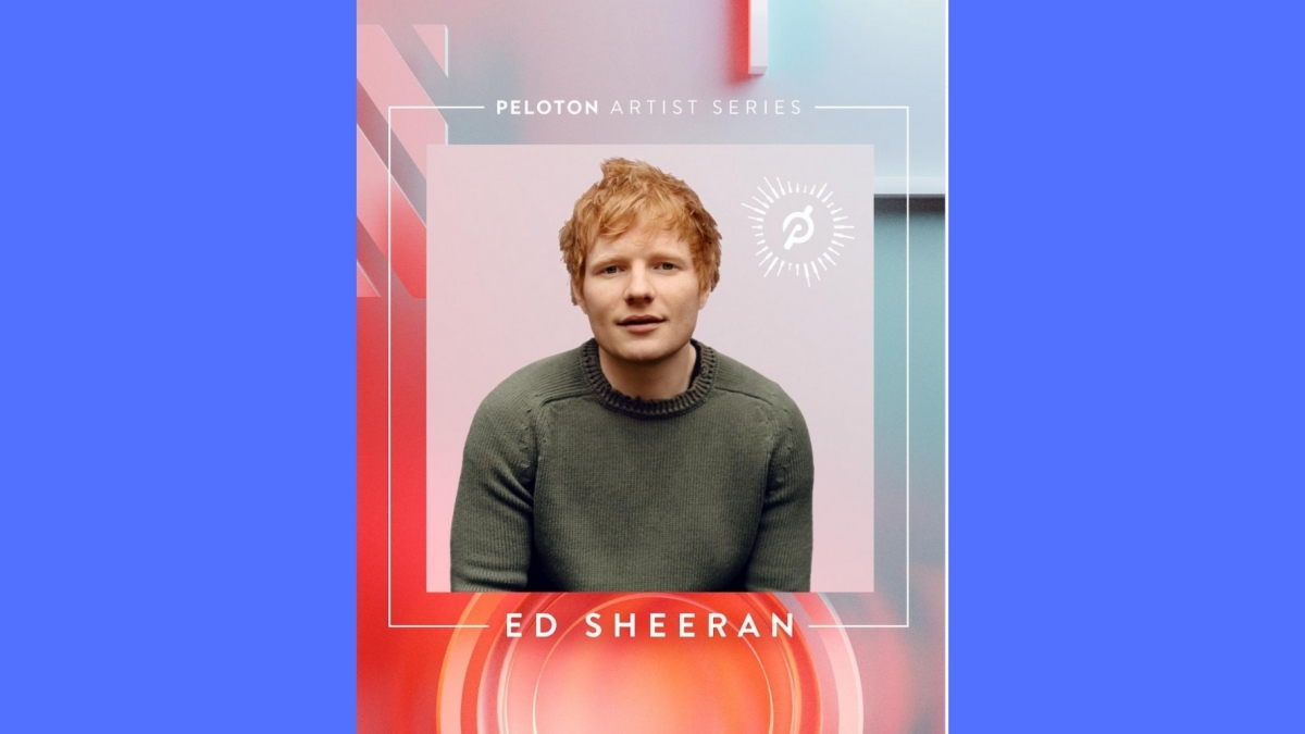 Ed Sheeran peloton