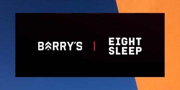 Eight Sleep Barry's Partnership